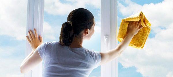 Como limpar janelas